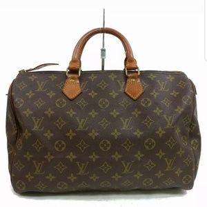 LOUIS VUITTON Speedy 35 monogram handbag M14524